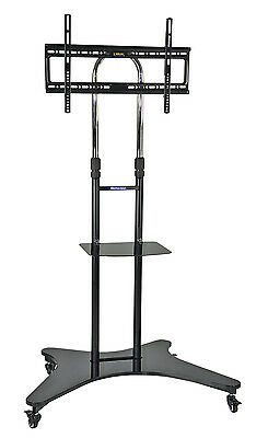 Professional Mobile Height Adjustable Office TV Television Stand Mount Trolley