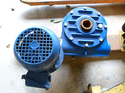 Gear Reduction Electric Motor
