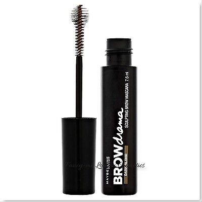 MAYBELLINE Brow Drama - Sculpting Brow Mascara - Dark Blonde 7.6ml + Free P&P
