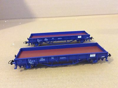 Roco 44176 Set Of 2 NS Open Wagons With Load Railpro