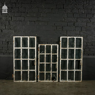 Collection of Reclaimed Cast Iron Windows