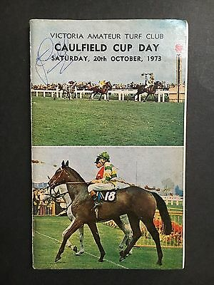Race Book V.a.t.c 1973 Caulfield Cup Meeting