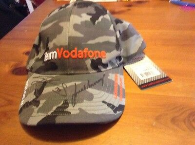 Craig Lowndes Jamie Whincup V8 Supercars Signed Cap