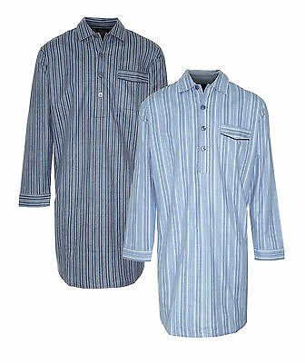 New Mens Champion Brushed Cotton Nightshirt Sleepwear Sleepwear Lounge Wear