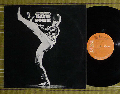 DAVID BOWIE, THE MAN WHO SOLD THE WORLD LP 1971 UK EX/EX- RCA Victor LSP 4816