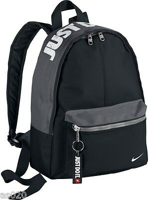 NEW Nike JUST DO IT Kids Junior Mini Backpack Boys Girls School Rucksack PE Bag