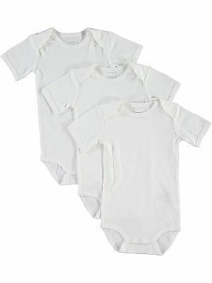 Name It Kinder-Baby Body 3er Pack kurzarm 13125662 13125659 Baumwolle weiß NEU