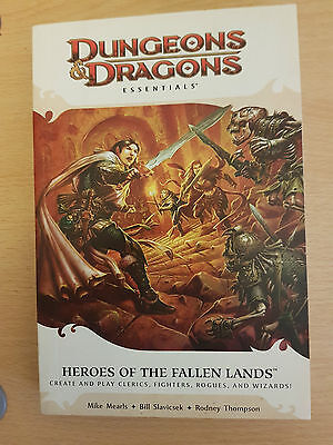 DnD 4th Ed - Heroes of a fallen land