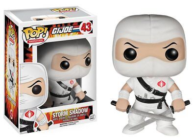 Funko Pop TV Animation G.I. Joe Storm Shadow Vinyl Action Figure Collectible Toy
