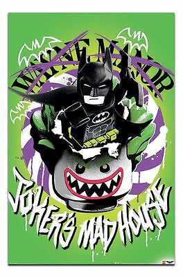 Lego Batman Jokers Madhouse Poster New - Maxi Size 36 x 24 Inch