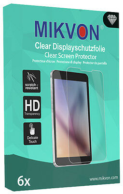 6x Mikvon Clear Screen Protector for Two WLAN Touch Retail Package + accessories