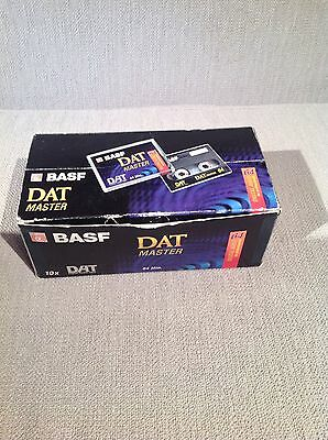 BASF dat tapes 64 Minute x8 New