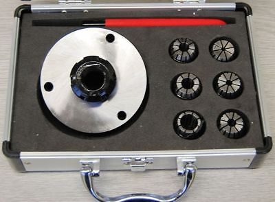 ER25 Collet Set with 100 MM Diameter Chuck For Lathe  From Chronos