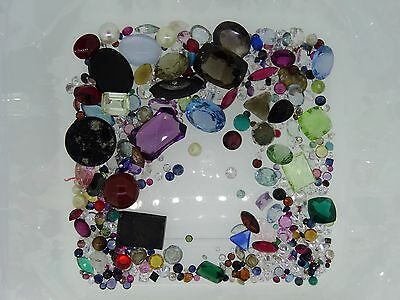 7. lot of loose gemstones gems from scrap gold mixed lot
