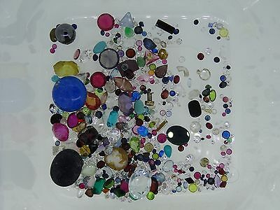 8. lot of loose gemstones gems from scrap gold mixed lot