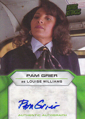 2013 Mars Attacks Invasion Pam Grier Movie Autograph Card Near Mint