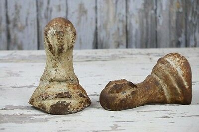 Clawfoot Tub Feet Set of 2 Cast Iron Antique Repurpose as bookends doorstops