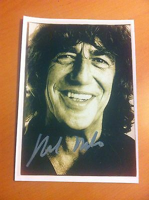 Howard Marks aka Mr Nice A4 Signed Picture Weed Dope Gangster Underworld thefirm
