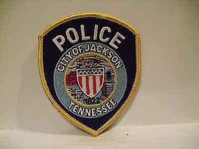 police patch    CITY OF JACKSON POLICE TENNESSEE