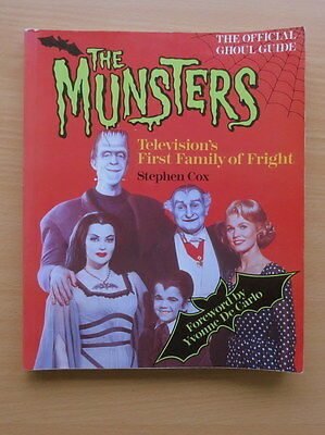 The  Munsters : TV's First Family of Fright. Stephen Cox. 1990. First Edition.