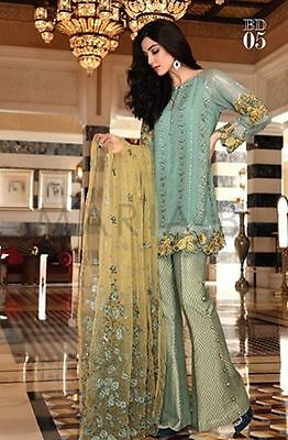 MARIA B Luxury Collection shalwar trouser kameez shirt outfit suit SZ S NEW