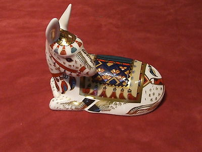 Royal Crown Derby Paperweight Thistle The Donkey
