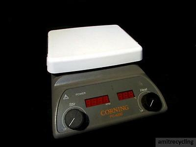 "Corning PC-420D Digital Hot Plate Magnetic Stirrer 5"" x 7"" 120V"