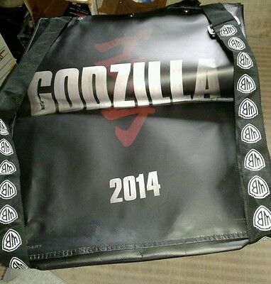 GODZILLA SDCC BAG with cape Tote Swag 2013 19x22 San Diego Comic Convention