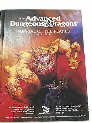 AD&D Manual of the Planes - classic Dungeons & Dragons book