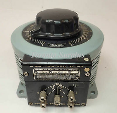 Superior Electric Powerstat 136 Variable Autotransformer 2.8Kva 20A 1Ph, Tested!