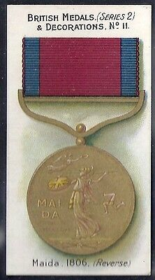 Taddy-British Medals & Decorations (Steel Back)-#11- Quality Card!!!