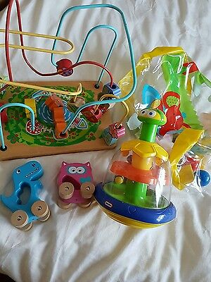 Selection of childens toys
