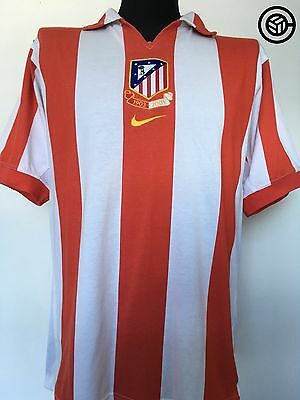 ATLETICO MADRID Centenary Nike Home Football Shirt Jersey 2003/04 (M)