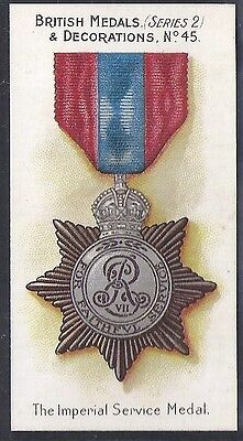 Taddy-British Medals & Decorations (Steel Back)-#45- Quality Card!!!