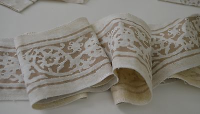 Beautiful Fortuny Edge Trim In Gold On Sand Ss270