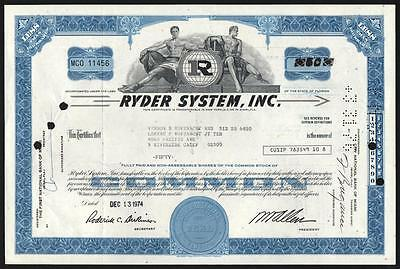 Florida: Ryder System, Inc. - Moving Truck Rental Company