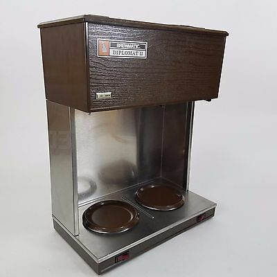 Brewmatic Diplomat II 12-Cup Coffee Brewer Commercial Auto Pourover