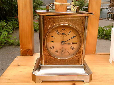 Antique Junghans Melody clock Very good condition, perfect running, Original Key