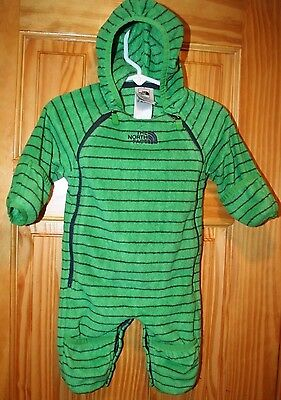 The North Face size 0-3 Months INFANT STRIPED BUTTERY BUNTING