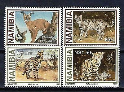 Animaux Faune sauvage Namibie (142) série complète 4 timbres neufs** luxe