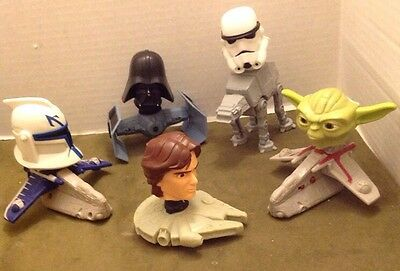 McDonald's Promotional Happy Meals Toys:  Star Wars Bobbleheads