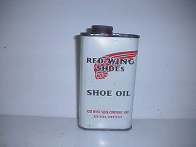Red Wing Shoes Shoe Oil Can.