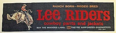 Denim Lee Riders Banner Ad
