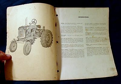 """Vintage Oliver Corporation Parts Book For The Super """"44"""" HC Tractor - Ca 1957!!"""