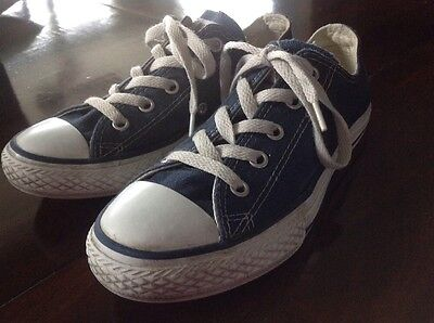 Boys Chuck Taylor All Star Converse Low Top Sneaker Shoes Size 1