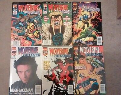 Panini UK Marvel Collectors Edition Wolverine and Gambit vol. 1 #43, 44, 49-52
