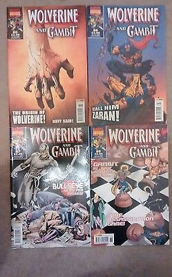 Panini UK Marvel Collectors Edition Wolverine and Gambit vol. 1 #85-88