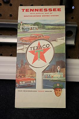 Lot of 8 Texaco State Maps 1950's-1960's Good Shape!