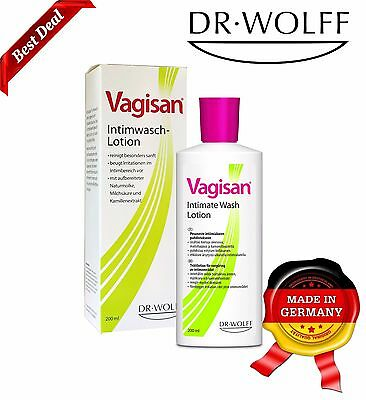 VAGISAN Intimate Wash Lotion Daily Gentle Cleaning of the External Intimate Area