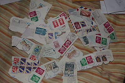 57X 20thC France/ French postage stamps philately mail